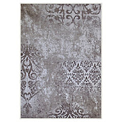 Alfombra frize monte crema 133x180 cm