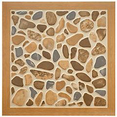 Cerámica 40x40 cm Woodriver gris de 1,44 m2