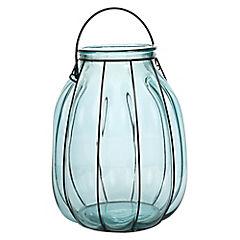 Florero 32 cm vidrio reciclado Acqua
