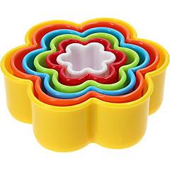 Molde para galletas flor plástico