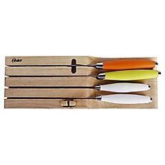 Set de cuchillos con taco 6 piezas