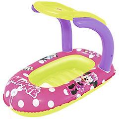 Bote flotador inflable con toldo Minnie