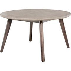 Mesa de apoyo ellie redonda 80x45 cm