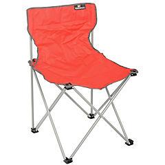 Silla plegable para camping rojo