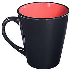 Tazón rojo y negro 360 ml