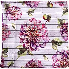 Funda para cojín Garden flor roja 45x45 cm