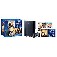 Playstation 3 con 4 juegos Sony