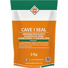 Tarro 2 kg Impermeabilizante superficial para hormigón y albañilería Cave I Seal