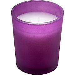 Vela vaso aromática morado