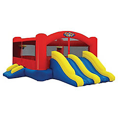 Inflable triple juego