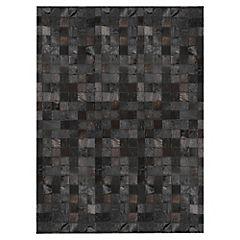 Alfombra de cuero 60x120 cm