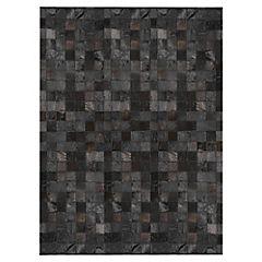 Alfombra de cuero 160x230 cm
