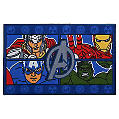 Bajada de cama infantil Avengers 80x120 cm