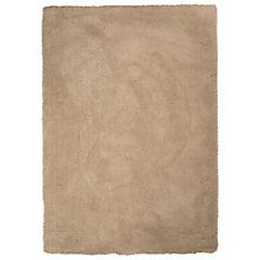 Alfombra Sherpa 160x230 cm beige