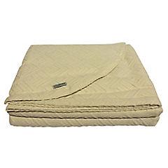 Colcha Leste crudo 100% algodón 2 plazas
