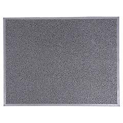 Limpiapiés PVC 0.6x1.20 m gris