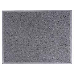 Limpiapiés PVC 1x1.20 m gris