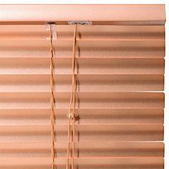 Persiana aluminio cobre 100x165 cm