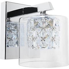 Apliqué cristales 1 luz G9 40W