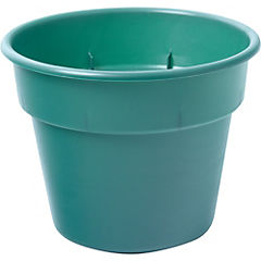 Macetero verde n.6 17 cm