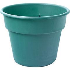 Macetero de plástico 23 cm Verde