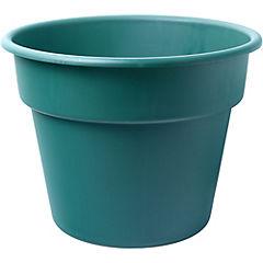 Macetero de plástico 46 cm Verde