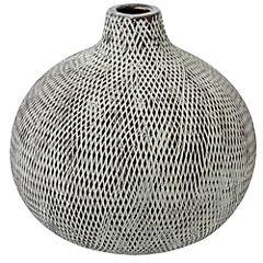 Florero de cerámica 20x19 cm