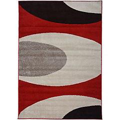 Alfombra 133x180 cm Botero rojo