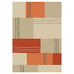 Alfombra Umbria rojo - naranjo 200x290 cm