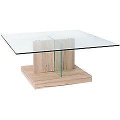 Mesa de centro Edu 100x100x40 cm oak