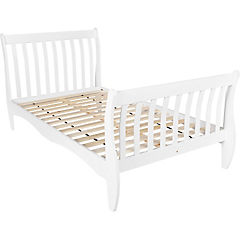 Cama Cute 1,5 plazas 110x212x95 cm blanco