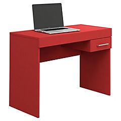 Escritorio para notebook 75x91x42 cm rojo