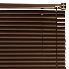 Persiana de PVC 80x165 cm chocolate