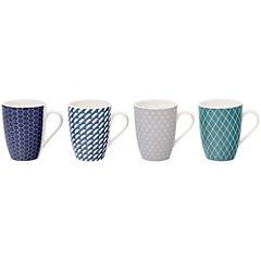 Set 4 mugs Smart Tech 320 ml
