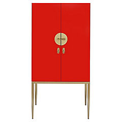 Estante Classy 70x45x140 cm rojo