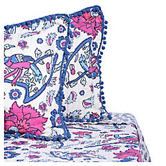 Quilt pavo real 2 plazas