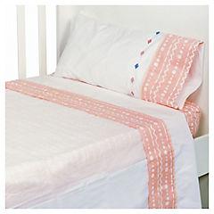 Juego de sábanas para bebé Tents niña 120x160 cm