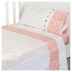 Juego de sábanas para moisés Tents niña 80x100 cm