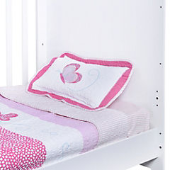 Quilt para bebé 120x150 cm mariposa