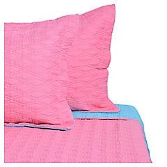 Quilt 2 plazas rosado