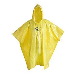 Poncho de agua PVC amarillo