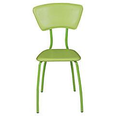 Set 4 sillas Asia poliuretano verde