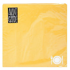 Juego de servilletas papel 33x33 cm amarillo mango 20 unidades