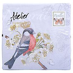 Servilleta de papel 33x33 cm pájaro real