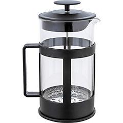 Cafetera de vidrio negra Francia