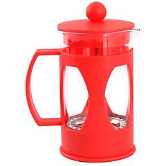 Cafetera de vidrio roja Francia