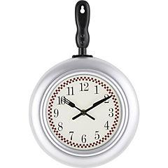 Reloj sartén plata 38 cm