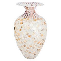 Vasija decorativa 41x26,5 cm Nacarado