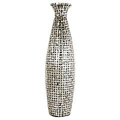Vasija decorativa 78x24 cm Nacarado