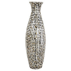 Vasija decorativa 65x22 cm Nacarado